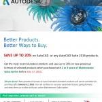 Multi Year Promo- AutoCAD