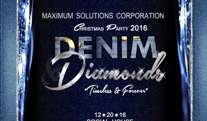Maximum Solutions Corporation Denim Diamonds Christmas